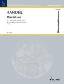 Ouvertüre - 2 Klarinetten Corno di Caccia HAENDEL laflutedepan.com