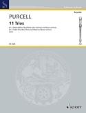 11 Trios Henry Purcell Partition Trios - laflutedepan.com