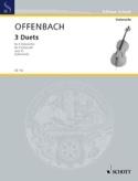 3 Duette op. 51 Jacques Offenbach Partition laflutedepan.com