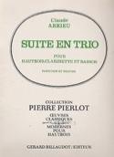 Suite En Trio Claude Arrieu Partition Trios - laflutedepan.com