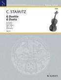 6 Duette, Heft 1 Carl Stamitz Partition Alto - laflutedepan.com