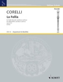 La Follia op. 5 n° 12 - Altblockflöte und Bc laflutedepan.com