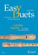 Easy Duets - descant and treble recorder James Hook laflutedepan.com