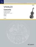 Concerto la mineur op. 3 n° 6 Nachèz VIVALDI laflutedepan.com