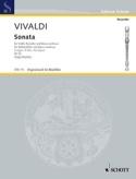Sonate F-Dur RV 52 -Altblockflöte u. Bc VIVALDI laflutedepan.com