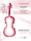 6 Suites Pour Violoncelle Vol 1 - Transcription Pour Alto laflutedepan.com
