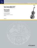 Sonate Arpeggione a-Moll D. 821 Franz Schubert laflutedepan.com