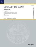 6 Duette - Bd 1 - 2 Altblockflöten laflutedepan.com