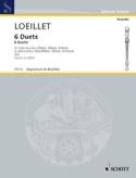 6 Duette - Bd 2 - 2 Altblockflöten laflutedepan.com