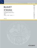 6 Sonates Opus 2 - Volume 1 Michel Blavet Partition laflutedepan
