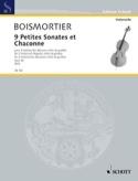 9 Petites Sonates et Chaconne, op. 66 BOISMORTIER laflutedepan.com