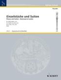 Einzelstücke und Suiten -Altblockflöte solo laflutedepan.com