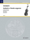 Andante E Rondo Ungarese - Carl Maria von Weber - laflutedepan.com