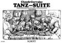 Tanz-Suite - Blockflötenquartett Claude Gervaise laflutedepan.com