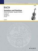 Sonates et Partitas BWV 1001-1006 pour violon seul - laflutedepan.com