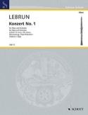 Concerto N°1 en Ré Mineur - Ludwig August Lebrun - laflutedepan.com