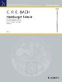 Hamburger Sonate G-Dur - Carl Philipp Emanuel Bach - laflutedepan.com
