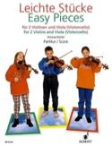 Easy Pieces for 2 Violins and Viola Violoncello laflutedepan.com