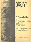 6 Flötenquartette Nr. 6) - Flöte, Violine, Viola u. Bass Violoncello) laflutedepan.com