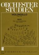 Orchesterstudien - Cello BACH Partition Violoncelle - laflutedepan.com