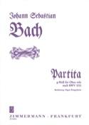 Partita g-moll nach BWV 1013 - Oboe solo BACH laflutedepan.com
