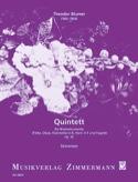 Quintett op. 52 - Blasinstrumente - Stimmen laflutedepan.com