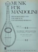 Pièces Classiques Pour 2 Mandolines - Partition - laflutedepan.com