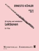 20 leichte und melodische Lektionen op. 93 – Heft 2 laflutedepan.com