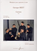 Carmen Suite -Quintette à vent Georges Bizet laflutedepan.com