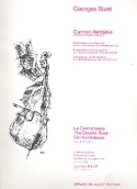 Carmen-Fantaisie - 4 Contrebasses BIZET Partition laflutedepan.com