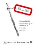 Souvenir Russe Op. 60 & Papillon Op. 30 - laflutedepan.com