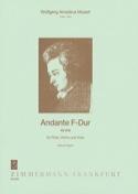 Andante F-Dur Kv 616 MOZART Partition Trios - laflutedepan.com