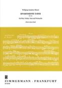 Divertimento D-Dur KV 334 – Flöte Violine Viola Violonello - Partitur + Stimmen laflutedepan.com