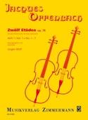Zwölf Etüden op. 78, Heft 1 : n° 1-7 laflutedepan.com