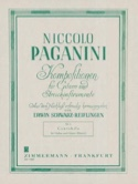 Cantabile Niccoló Paganini Partition Duos - laflutedepan.com