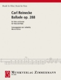 Ballade Op. 288 - Carl Reinecke - Partition - laflutedepan.com