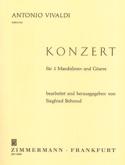 Concerto En Sol mineur VIVALDI Partition Mandoline - laflutedepan.be
