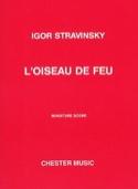 L'oiseau de Feu - Suite 1919) - Score Igor Stravinsky laflutedepan.com