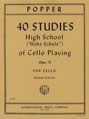 40 Studies – High school of cello playing op. 73 - laflutedepan.com