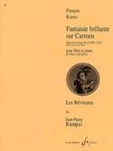 Fantaisie brillante sur Carmen - François Borne - laflutedepan.com