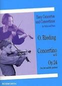 Concertino op. 24 en Sol Majeur Oskar Rieding laflutedepan.com