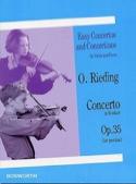 Concerto op. 35 en si mineur Oskar Rieding Partition laflutedepan.com