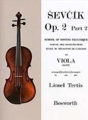 Etudes Opus 2 / Partie 2 - Alto Otakar Sevcik laflutedepan.com