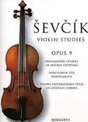 Etudes Opus 9 – Violon - Otakar Sevcik - Partition - laflutedepan.com