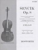 Etudes Opus 8 - Violoncelle Otakar Sevcik Partition laflutedepan.com