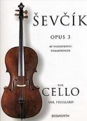 Etudes Opus 3 - Violoncelle Otakar Sevcik Partition laflutedepan.com