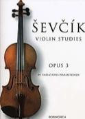 Etudes Opus 3 - Violon - Otakar Sevcik - Partition - laflutedepan.com