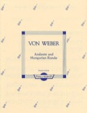 Andante and Hungarian rondo - Viola Carl Maria von Weber laflutedepan