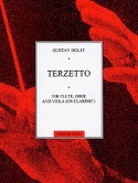 Terzetto - Score + Parts Gustav Holst Partition laflutedepan.com