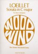 Sonata in C major - Oboe piano Jean-Baptiste Loeillet laflutedepan.com